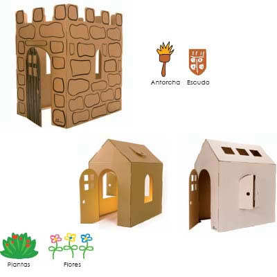 Замок своими руками для детей