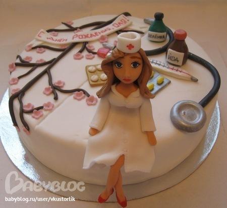 Торт для медсестры фото