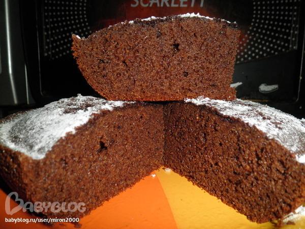 Манник с какао на кефире рецепт с пошагово в духовке