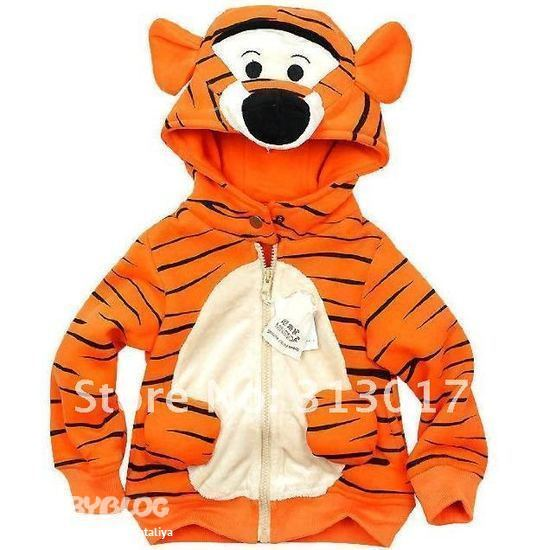 5. Ветровка тигр.