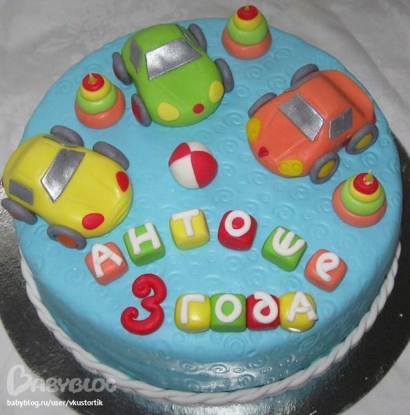 Детский торт для мальчика источник