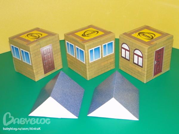 Дом своими руками из бросового материала 72