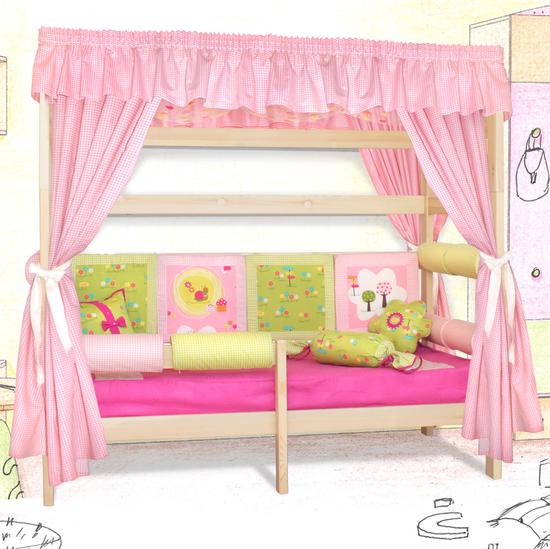 Как сделать кроватку своими руками для девочки