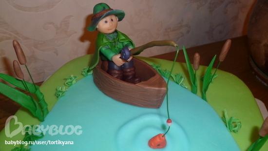 мастер классы торта для рыбака