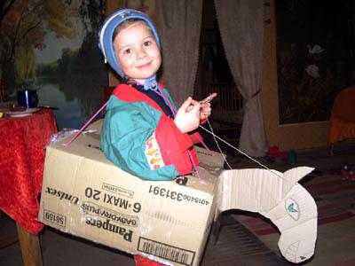 Детский костюм лошадки своими руками