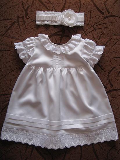 Как сшить платье для новорождённой 69