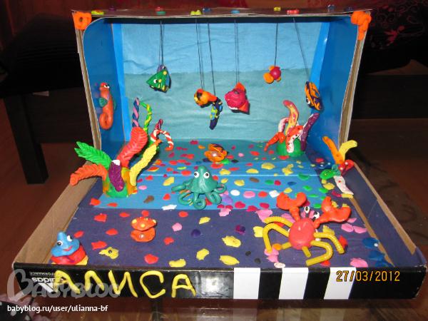 Поделки на морскую тему своими руками для детского сада