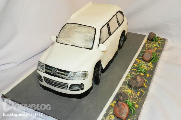 фольксваген гольф фото торт белая торты