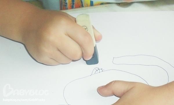 Как сделать ластик который стирает ручку