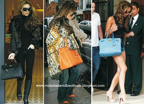 сумки Hermes и Виктория Бекхем.