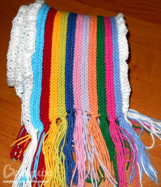 Вязание шарфы мастер класс