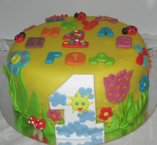 Торт ребенку 7 лет фото