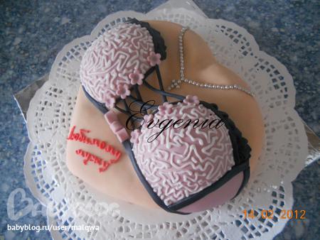 Торт женский бюст своими руками фото
