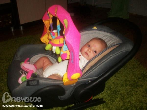 Во сколько месяцев можно ребенка сажать в коляску 59
