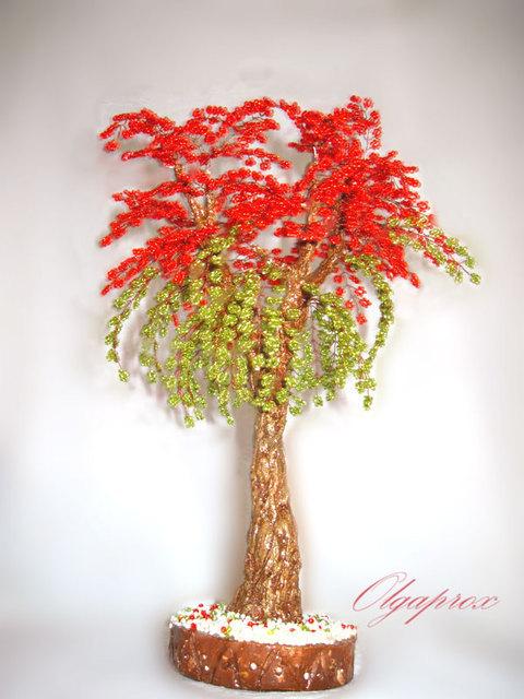 Продам дерево из бисера в