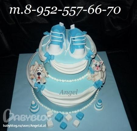 заказ фото детский торт на воронеж