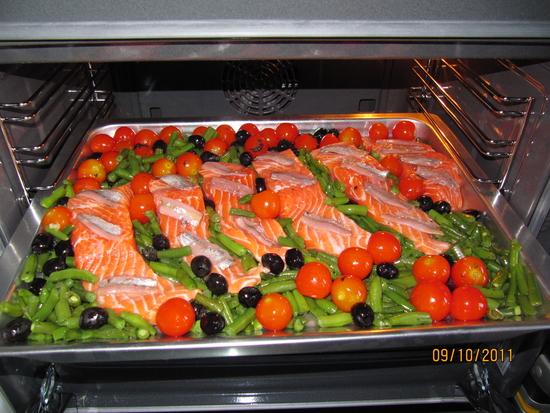 Форель запеченная в духовке в фольге рецепт с овощами