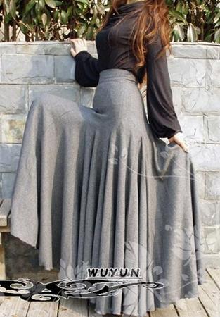 Модные длинные юбки купить в москве