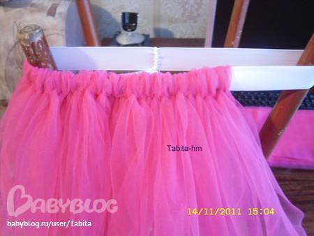 Как сшить юбку на стол мастер класс