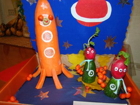 Как из огурца сделать ракету