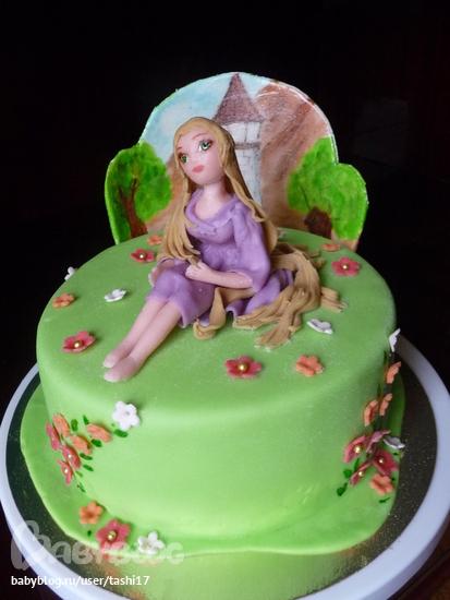Торт с рапунцель безе - 9057e