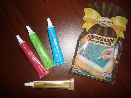 Красители для мастики в домашних условиях 778