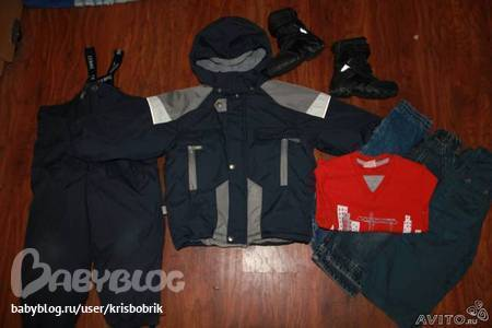...к этой ж куртке ленне керри(потерты колени). сапоги ессо гртекс зима...