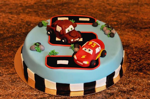 Тачки маквин фото на торт