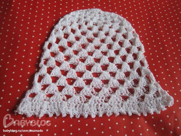 Вязание крючком самой простой шапки