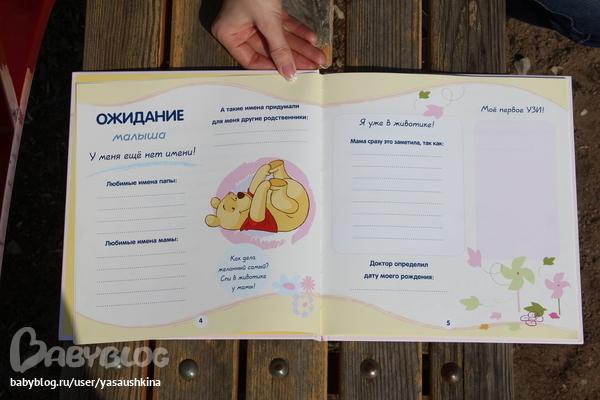 Дневник для новорожденных своими руками 44