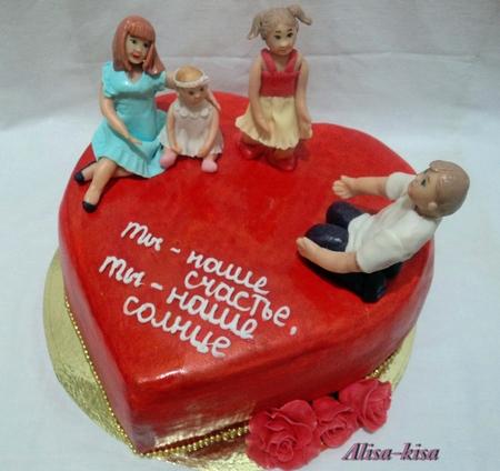 Как сделать украшение из мастики для торта в домашних 617