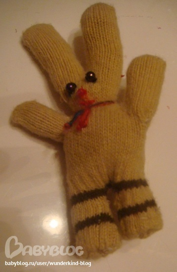 Поделки из перчатки и варежки 82