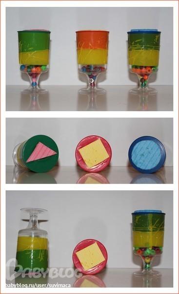 Поделки из бутылочек из актимеля 5
