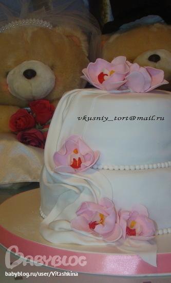 Свадебные торты на заказ праздничные