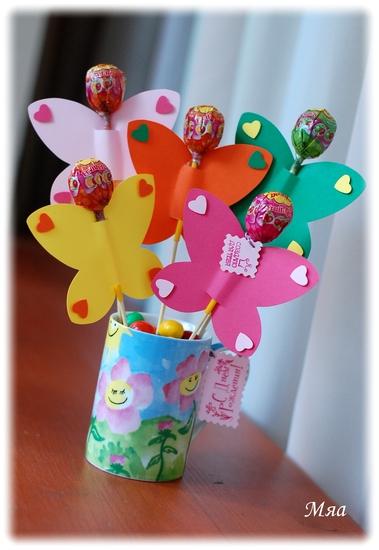Поделки бабочки на день рождения