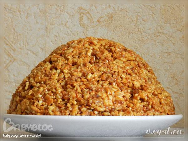 Как сделать муравейник рецепт