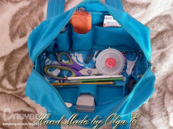 Как сшить сумку для рукоделия