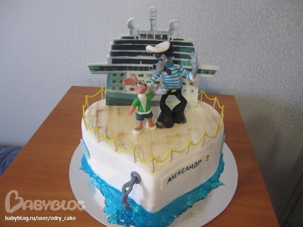 торт ну погоди из мастики фото