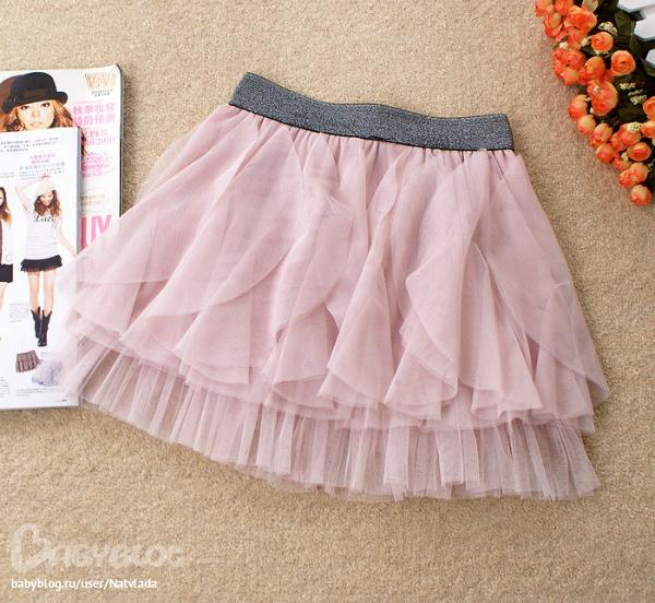 Как сшить многослойную юбку для девочки 85