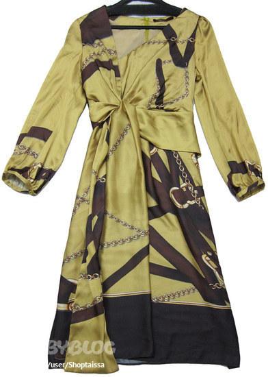 Шелковое платье Гуччи, 100 % шелк.  Размер 44.  На любой рост (хоть до...