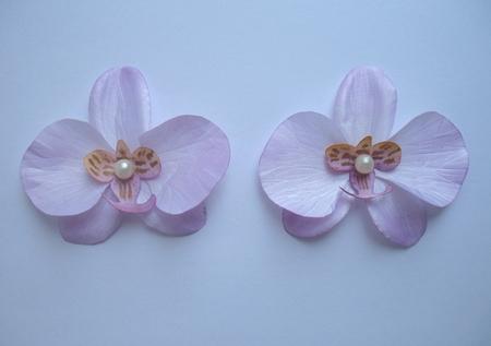 Орхидеи из кожи своими руками мастер класс 24