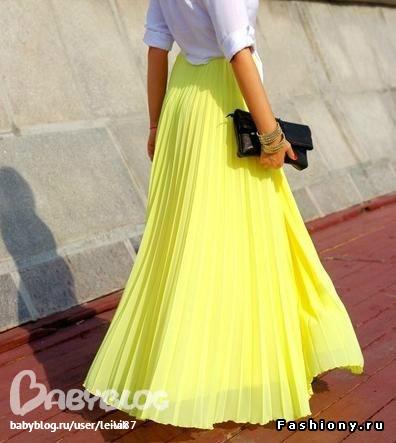 Желтая юбка во сне