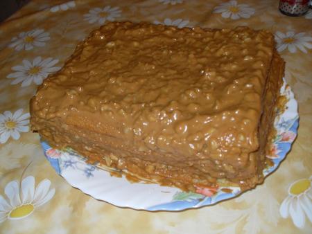 домашний торт сгущенка фото рецепт
