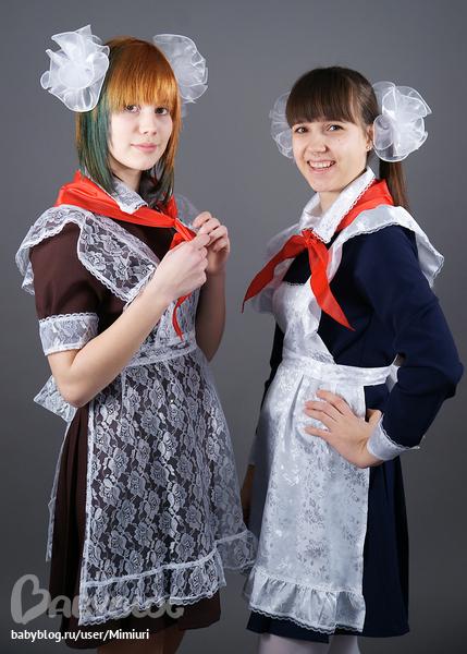 Купить школьную форму для девочки советского образца
