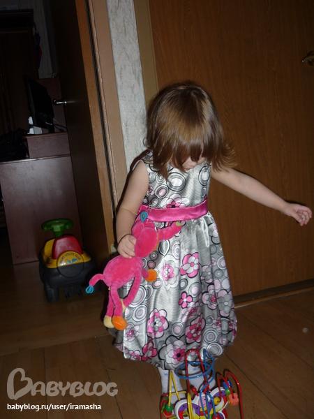 Выкройка детское бальное платье.