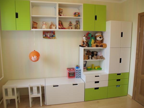 Детская мебель в интерьере фото