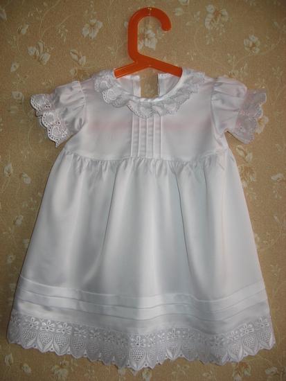 Крестильное платье для девочки сшить 79
