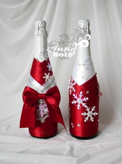 Шампанское из конфет мастер класс 49