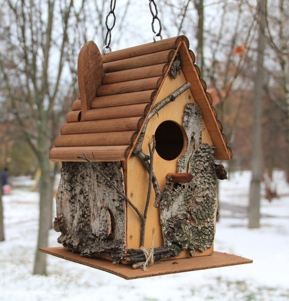 Птичьи домики своими руками