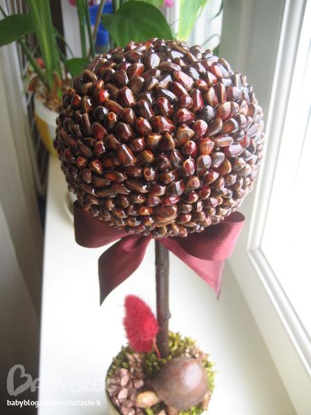 Поделки из кедровых орех